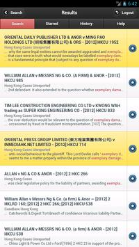 Lexis® for Lawyers in Asia 2 apk screenshot
