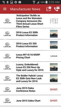 Lexus Escondido DealerApp apk screenshot