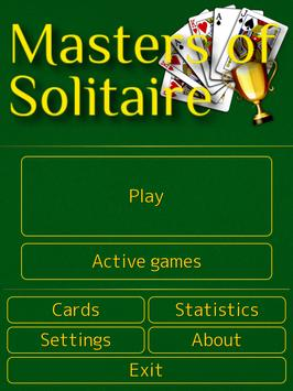 Masters of Solitaire apk screenshot