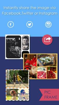 Pic Frame - Photo Collage Grid apk screenshot