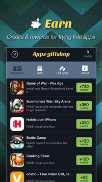 Apps giftshop – Free Gift Card apk screenshot