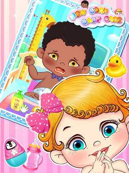 Newborn Baby Care 2: Girl Game screenshot 1