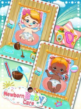 Newborn Baby Care: Girls Games poster