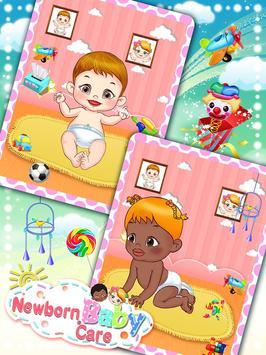 Newborn Baby Care: Girls Games screenshot 12