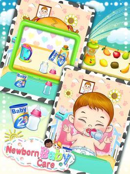 Newborn Baby Care: Girls Games screenshot 13