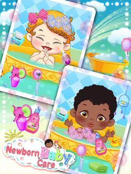 Newborn Baby Care: Girls Games screenshot 1