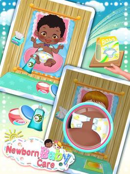 Newborn Baby Care: Girls Games screenshot 2