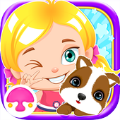Anna's Growth: Baby Game icon
