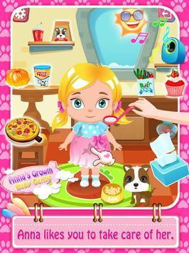 Anna's Growth: Baby Game screenshot 1
