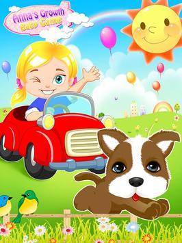 Anna's Growth: Baby Game screenshot 4