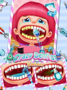 Crazy Dentist Salon: Girl Game poster