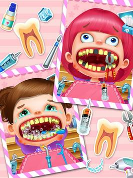 Crazy Dentist Salon: Girl Game screenshot 1