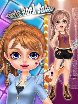 Rock Girl's Salon: Girls Games screenshot 5