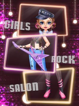 Rock Girl's Salon: Girls Games screenshot 9