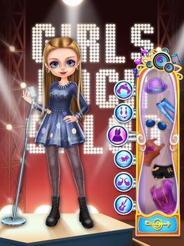 Rock Girl's Salon: Girls Games screenshot 13