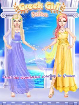 Greek Girl Salon: Goddess Road screenshot 4