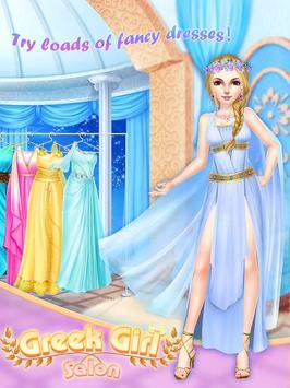 Greek Girl Salon: Goddess Road screenshot 1