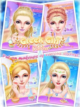 Greek Girl Salon: Goddess Road screenshot 3