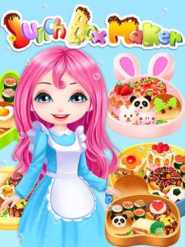 Lunch Box Maker: cooking games poster