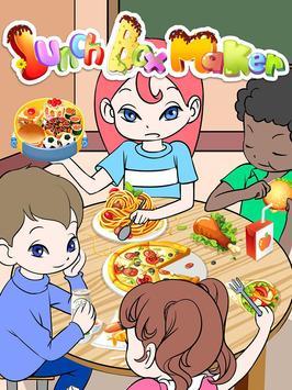 Lunch Box Maker: cooking games apk screenshot
