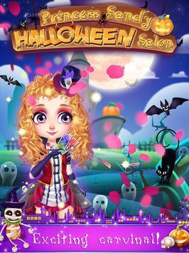 Princess Sandy:Halloween Salon poster