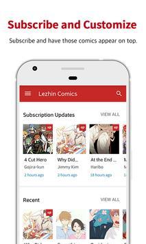 Lezhin Comics - Daily Releases apk screenshot