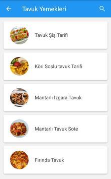 Kolay Yemek Tarifleri apk screenshot