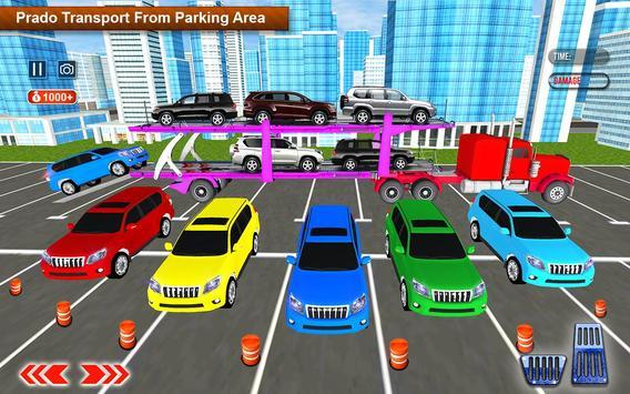 Transporter Games Multistory Car Transport apk screenshot