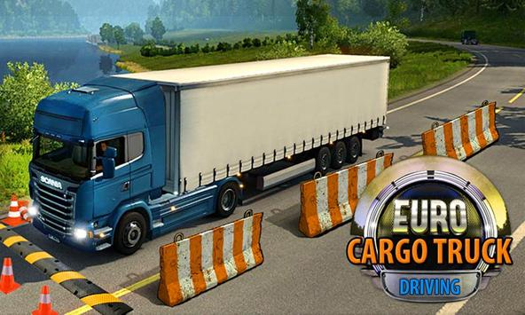 Truck Drive Cargo Transport poster