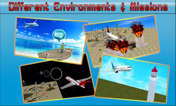 Flight Pilot Simulator 2017 screenshot 9