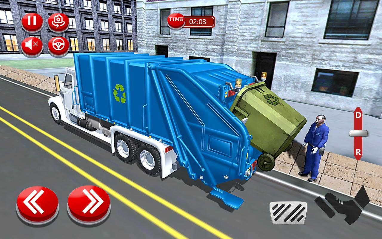 m ll lkw simulator stadt stra e reiniger f r android apk. Black Bedroom Furniture Sets. Home Design Ideas
