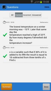 SAT Math MCQ screenshot 4