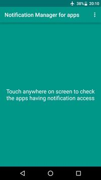 Notification Manager for apps - No root required poster