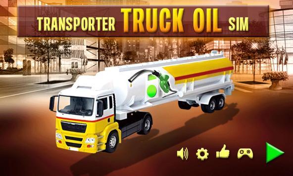 Oil Truck Simulator USA 2017 poster