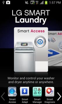 LG Smart Laundry&DW poster