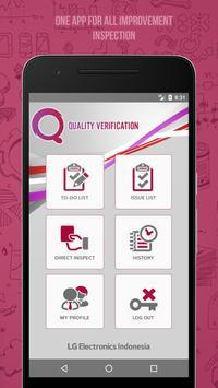 Quality Verification screenshot 1