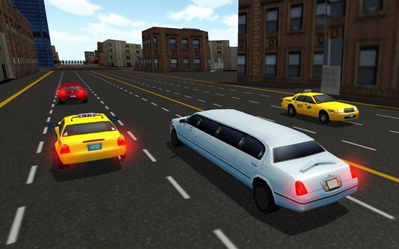 VIP Stretch Limo Car Driver screenshot 14