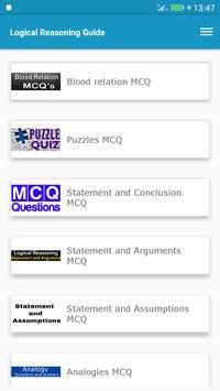 Logical Reasoning Guide screenshot 5