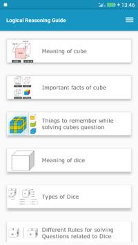 Logical Reasoning Guide apk screenshot