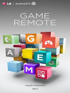 LG Android TV Game Remote poster