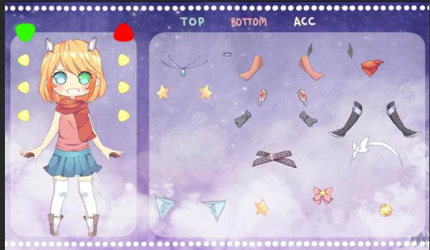 Dressup My Charie poster
