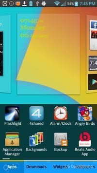 LGHome Optimus Prime Theme apk screenshot