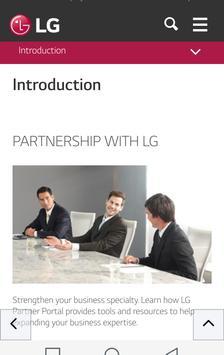 LGE B2B Partner Portal apk screenshot