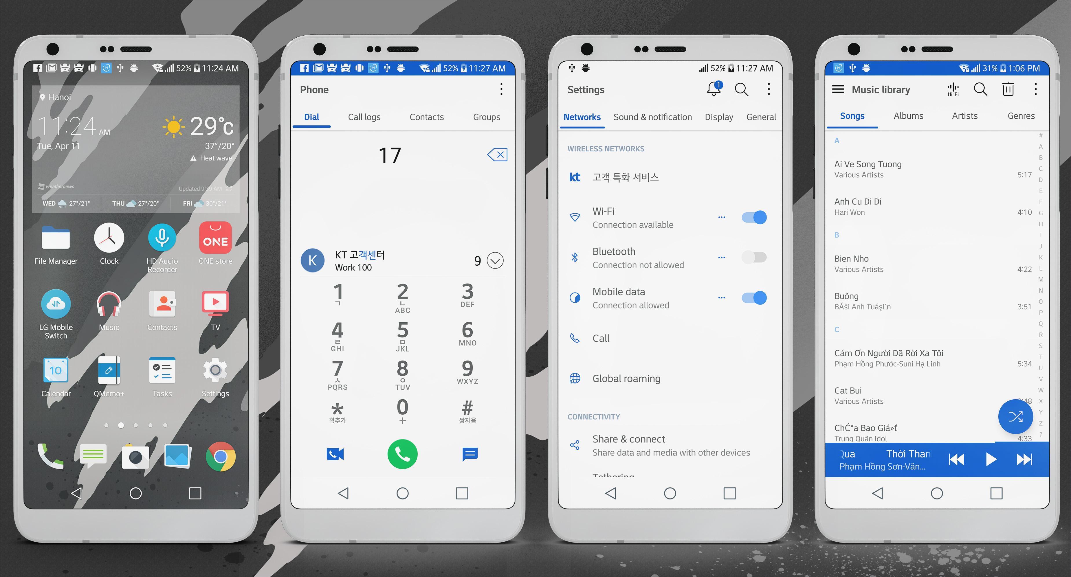 Sense Pro Theme LG G6 V20 & G5 for Android - APK Download