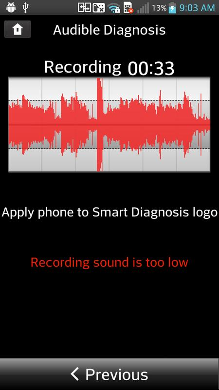 how to use lg smart diagnosis