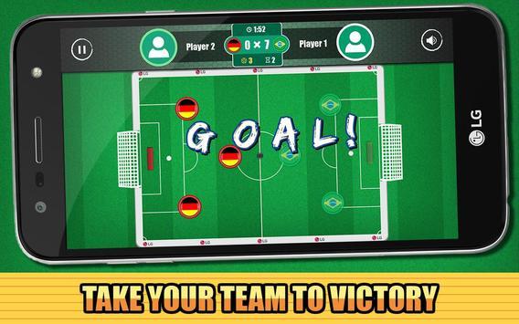 LG Button Soccer - Online Free apk screenshot