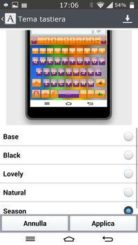 Season Keyboard LGHome LG G2 apk screenshot