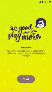 LG 360 CAM Manager Plakat