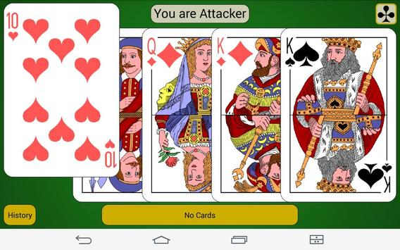 LG webOS card game Durak apk screenshot