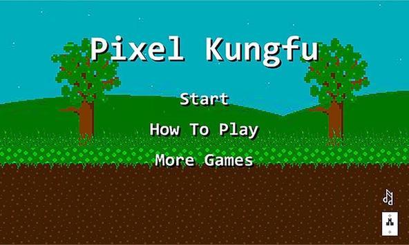 Pixel KungFu poster